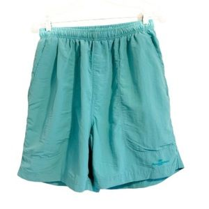 TOMMY BAHAMA Teal Swim Trunks